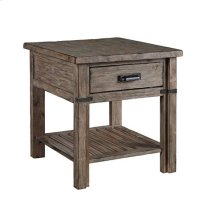 Foundry Drawer End Table