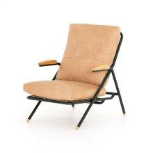 Sullivan Leather Chair-sahara Tan