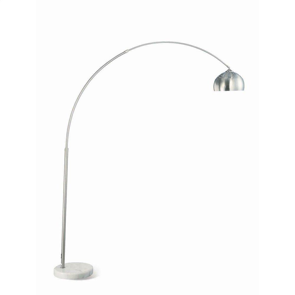 Contemporary Chrome Floor Lamp