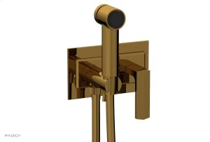 DIAMA Wall Mounted Bidet, Lever Handle 184-65 - French Brass Product Image