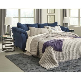 Darcy Full Sofa Sleeper Blue