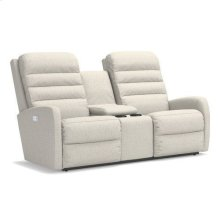 Forum Power Wall Reclining Loveseat w/ Console