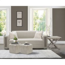 Ashbury Square Accent Ottoman Pwd