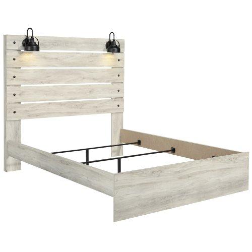 Cambeck - Whitewash 3 Piece Bed Set (Queen)