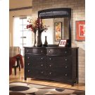 Harmony - Dark Brown 2 Piece Bedroom Set Product Image