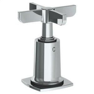"""Trim for Deck Mounted Valve. Engraved """"c"""" Product Image"""