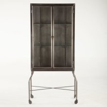 Pittsburg Iron Glass Cabinet