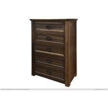 5 Drawer, Chest, Parota Wood