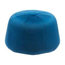 Dulcet Ottoman Blue Velvet