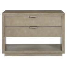 Mosaic Nightstand in Dark Taupe (373)