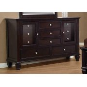 Sandy Beach Cappuccino Eleven-drawer Dresser Product Image