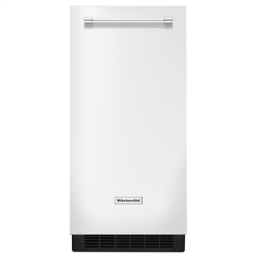 KitchenAid® 15'' Automatic Ice Maker White
