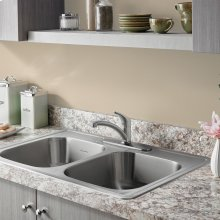 Colony PRO Single-Handle Kitchen Faucet  American Standard - Stainless Steel