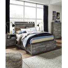 Baystorm - Gray 5 Piece Bed Set (Full)