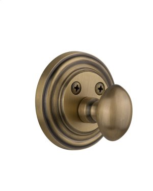 Nostalgic - Single Cylinder Deadbolt Keyed Differently - Classic in Antique Brass Product Image