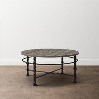 Verona Metal Round Cocktail Table