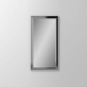 "Main Line 15-1/8"" X 29-7/8"" X 1-5/8"" Bryn Mawr Framed Mirror In Chrome Product Image"