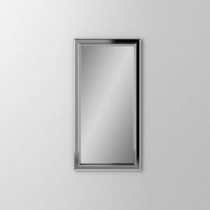 "Main Line 15-1/8"" X 29-7/8"" X 1-5/8"" Bryn Mawr Framed Mirror In Chrome Product Image"