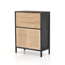 Black Wash Finish Sydney Tall Dresser