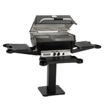 Premium Series - P4XF Grill with Flare Buster Ceramic Flavor Enhancers (LP)