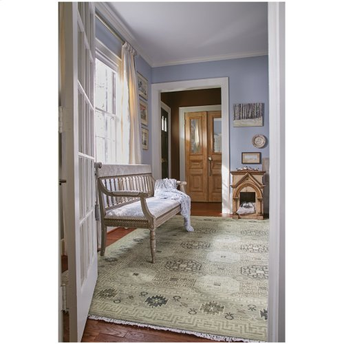 Siam-Tile Lt. Grey Hand Knotted Rugs