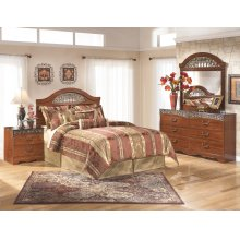 Fairbrooks Estate - Reddish Brown 5 Piece Bedroom Set