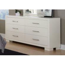 Jessica Contemporary Six-drawer Dresser