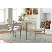 Transitional Taupe Five-piece Set Product Image
