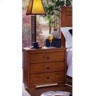 Night Stand - Cinnamon Pine Finish Product Image