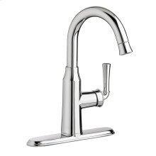 Portsmouth 1 Handle High Arc Pull Down Bar Sink Faucet  American Standard - Stainless Steel