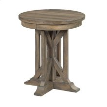 """Mill House 22"""" James Round End Table"""