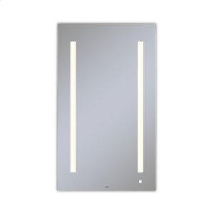 "Aio 23-1/8"" X 39-1/4"" X 1-1/2"" Lighted Mirror With Lum Lighting At 2700 Kelvin Temperature (warm Light), Dimmable and Usb Charging Ports Product Image"