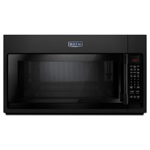 Over-The-Range Microwave With WideGlide Tray - 2.1 Cu. Ft. Black