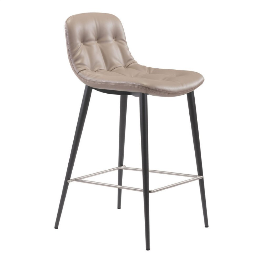 Tangiers Counter Chair Taupe