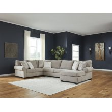 Baranello - Stone 3 Piece Sectional
