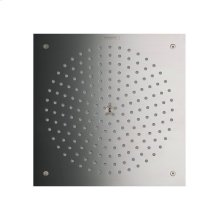 Brushed Nickel Showerhead 260 Square 1-Jet Trim, 2.5 GPM