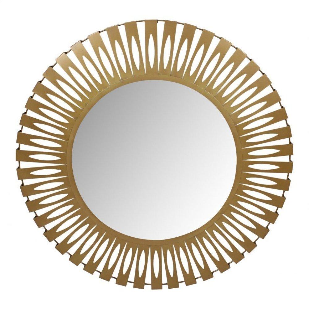 Radiate Mirror Gold