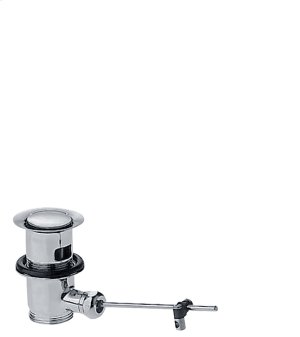 Chrome Waste set pop-up for basin and bidet mixers Product Image