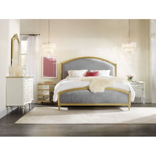 Bedroom Antoinette 6/0-6/6 Gilded Uph Headboard