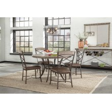 Emmons 5-piece Round Dining Set
