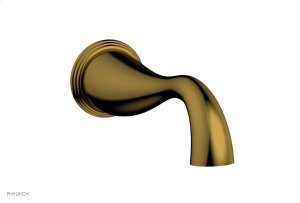 3RING Wall Tub Spout D1205X3 - French Brass Product Image