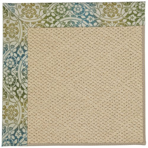 Creative Concepts-Cane Wicker Festive Opal Machine Tufted Rugs