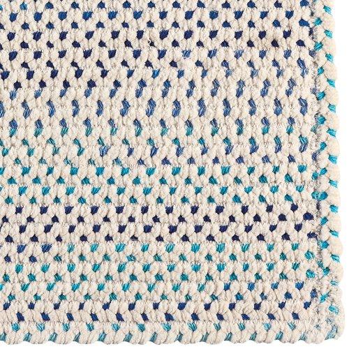 Dramatic Static Tidal Wave Braided Rugs