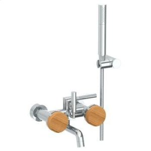 Wall Mounted Exposed Bath Set With Hand Shower Product Image