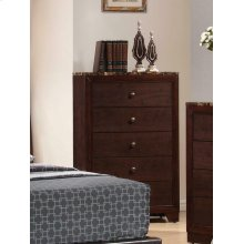 Conner Casual Cappuccino Five-drawer Chest