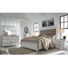 Kanwyn - Whitewash 5 Piece Bedroom Set