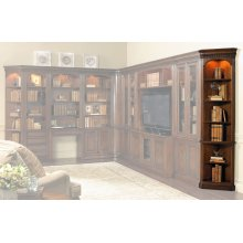 Home Office European Renaissance II Wall End Unit L/R