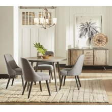 American Retrospective Rectangular Dining Table Top