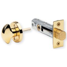 Modern Privacy Bolt Set in (Mortise Privacy Bolt - Solid Brass)