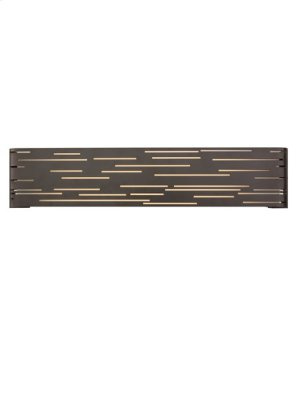 Antique Bronze with Metal Trim Revel Linear Wall Product Image